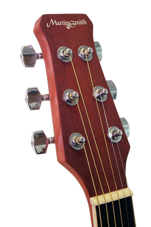 Martin Smith R202-BK - Guitarra electroacústica, color negro: Amazon.es: Instrumentos musicales