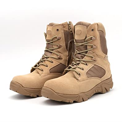 a9ea457e9f ZHRFei Military Tactical Combat Outdoor Sport Army Men Boots Desert Botas  Hiking Autumn Shoes Travel Leather
