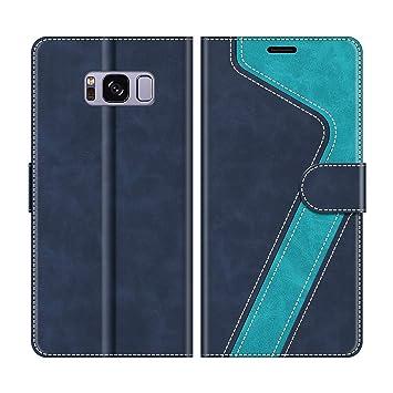MOBESV Funda para Samsung Galaxy S8 Plus, Funda Libro Samsung S8 Plus, Funda Móvil Samsung Galaxy S8 Plus Magnético Carcasa para Samsung Galaxy S8 ...