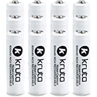 12-Pack Kruta AA NiCd 1.2v Rechargeable Batteries