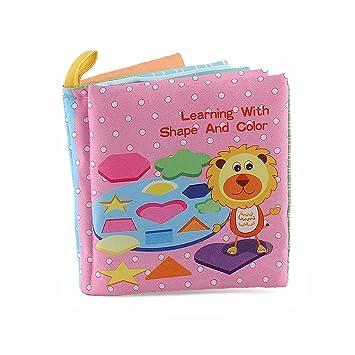 Amazemarket Bebé apaciguar Suave felpa paño libro relleno dibujos ...