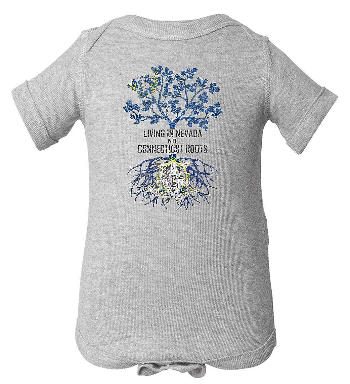 Tenacitee Babys Living in Nevada Connecticut Roots Shirt