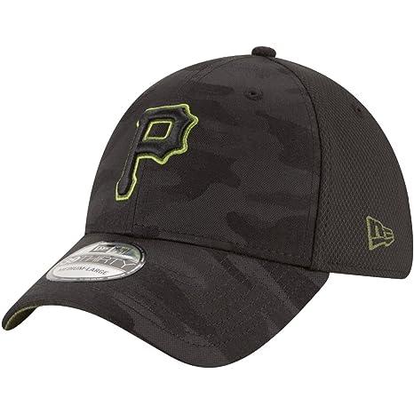 Amazon.com   New Era Pittsburgh Pirates 2018 Memorial Day 39THIRTY ... be1b328a004