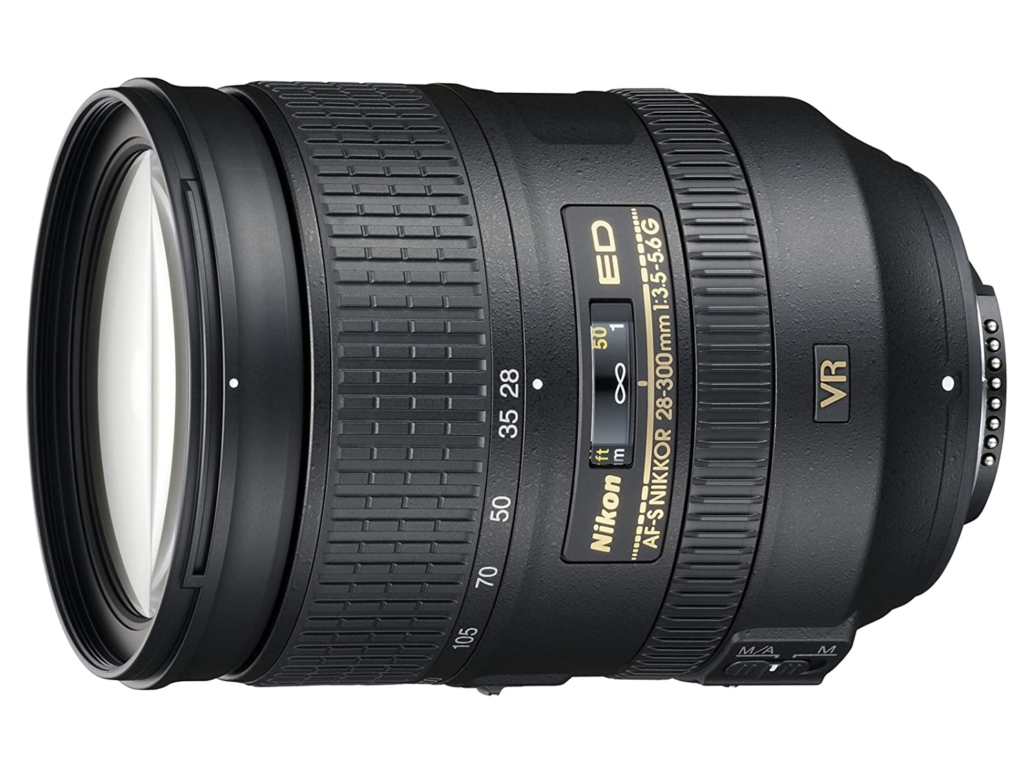 Nikon AF-S FX NIKKOR 28-300mm f/3.5-5.6G ED Vibration Reduction Zoom Lens Black Friday Deals 2019