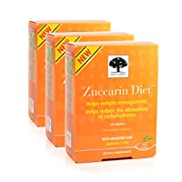 New Nordic Zuccarin Diet w/Mulberry Leaf, 60 Tablets, Pack of 3