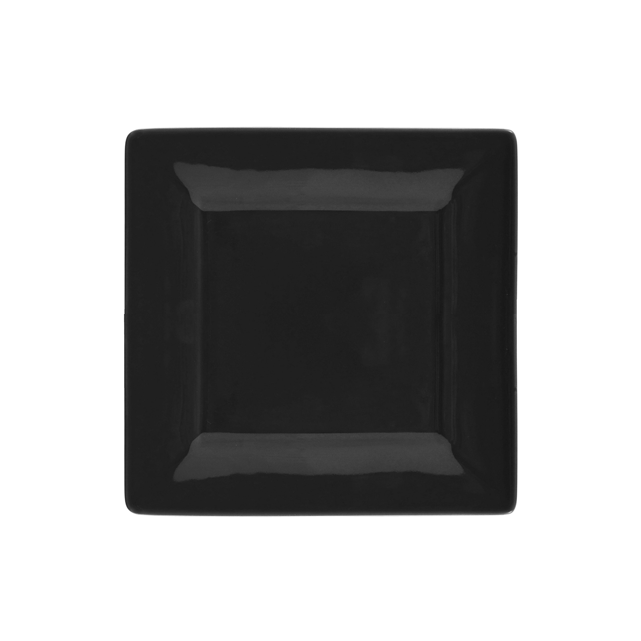 10 Strawberry Street Square 16 Piece Dinnerware Set, Black by 10 Strawberry Street (Image #3)