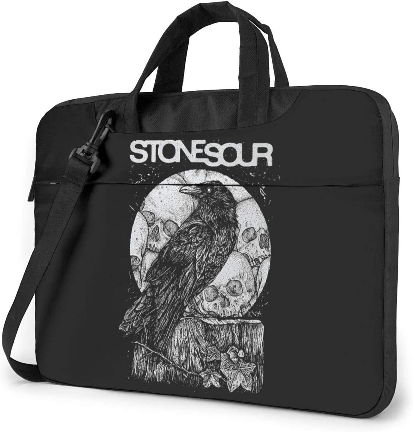 Stone Sour Crow Casual Shockproof Single Shoulder Messenger Laptop Bag