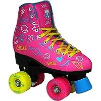 Epic Skates Blush Quad Roller Skates, Pink, Kids Size 2