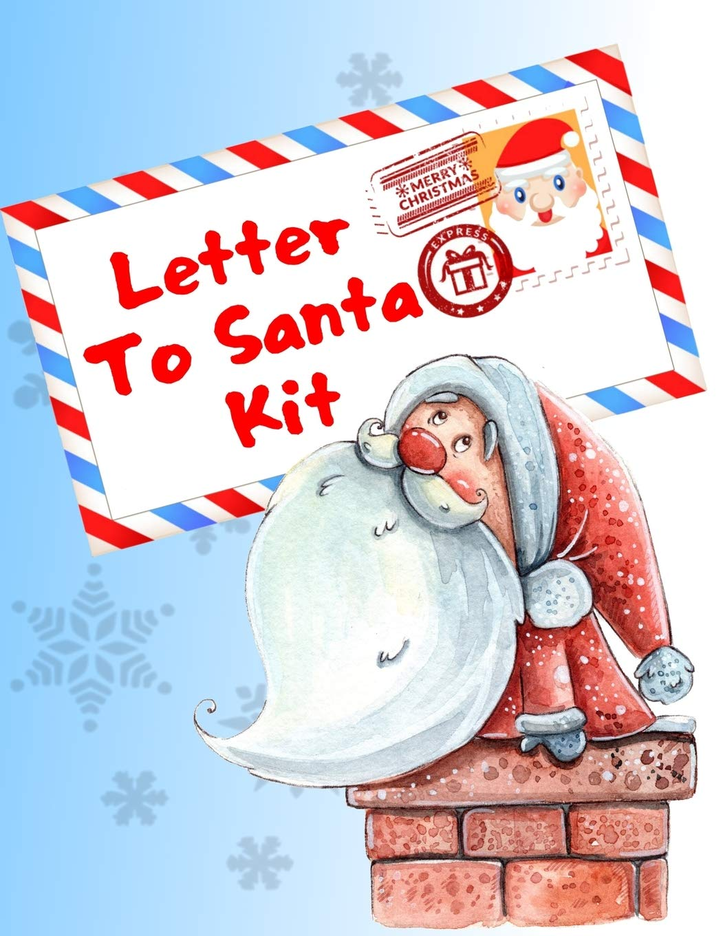 Buy Letter To Santa Kit: Write A Letter To Santa Claus, Coloring And  Sticker Pages Book Online at Low Prices in India   Letter To Santa Kit:  Write A Letter To Santa