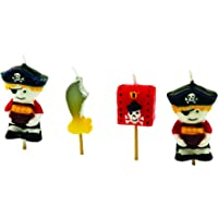 Tala Cooking Velas Piratas, Parafina, Multicolor, 11.3x2.7x14.2 cm