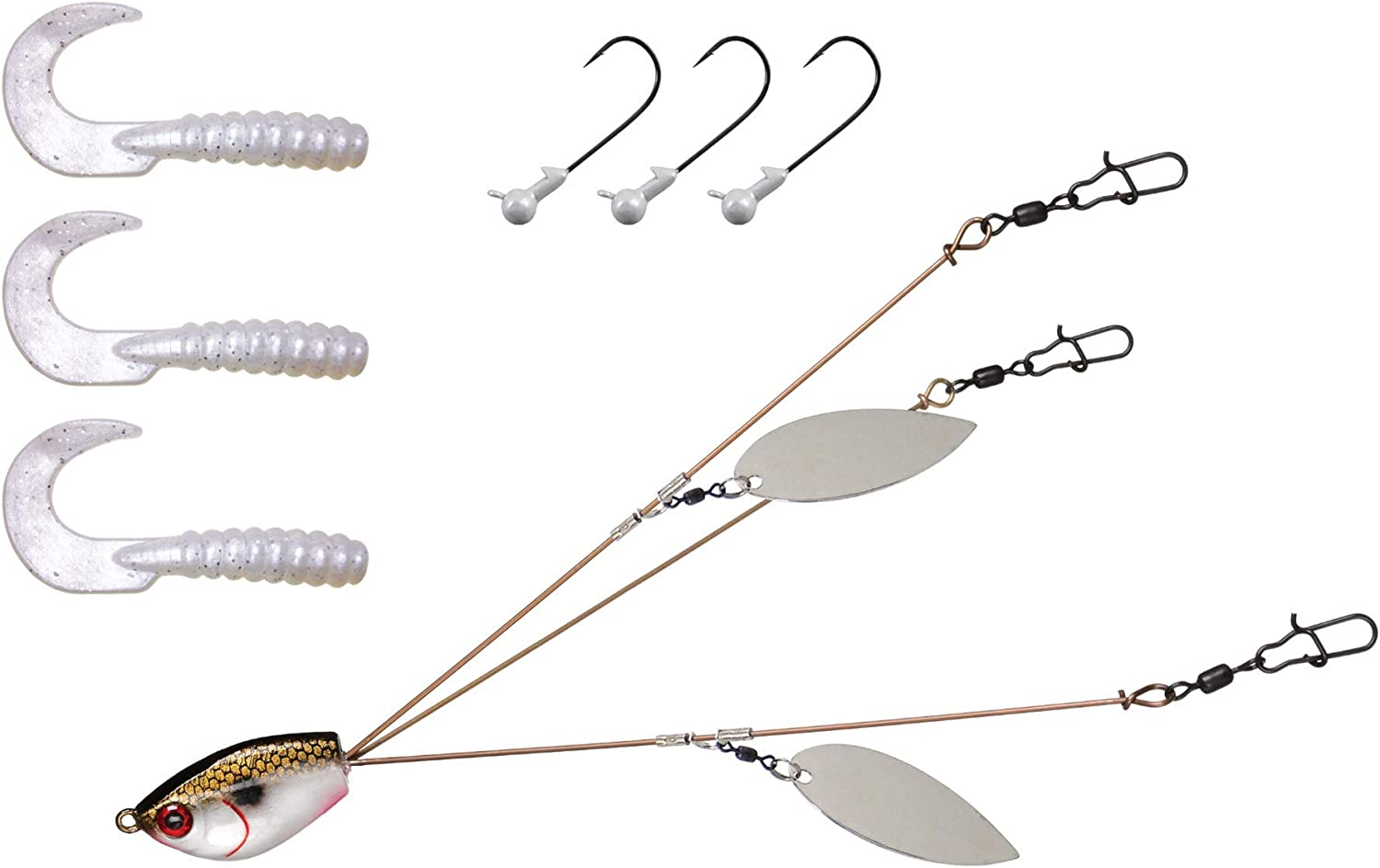 Yumbrella Ultralight Willow Blade Rig