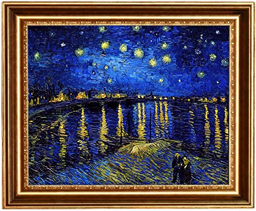 Eliteart-Starry Night Over The Rhone
