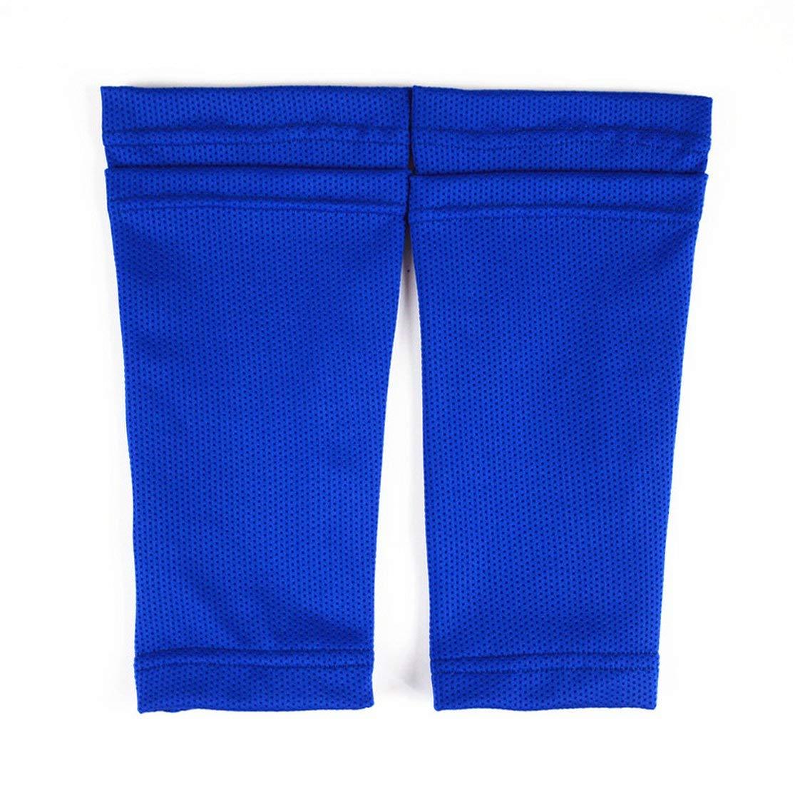 Kaemma Professional Soccer Shin Pads Holder Sports Instep Foot Socks Breathable Nylon Football Shin Guards Lock Sleeves