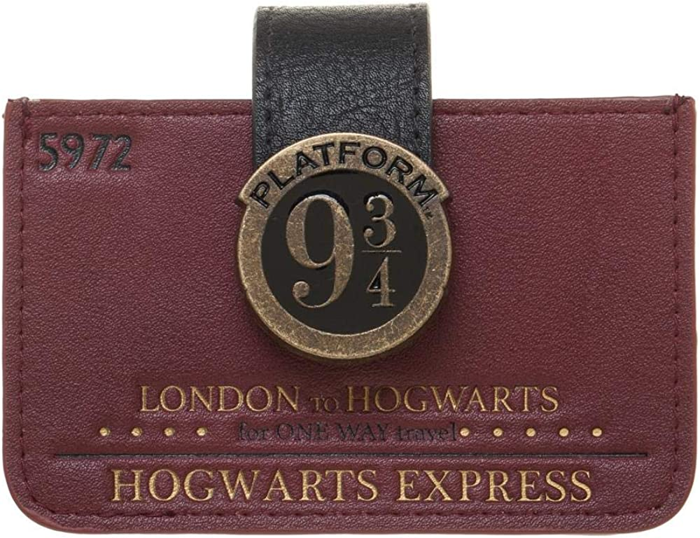 Harry Potter Platform 9 3//4 Zipper Long Wallets Women Card Holders Party Purse
