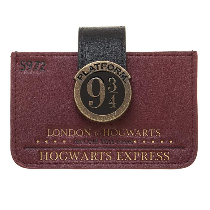 Harry Potter 9 3/4 Card Wallet by Bioworld