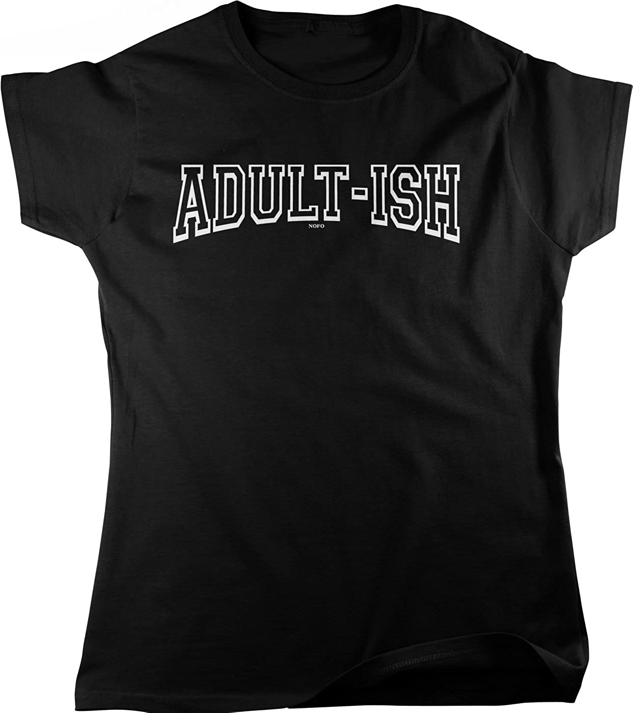 ADULT-ISH T Shirt available in Black White or Pink Novelty