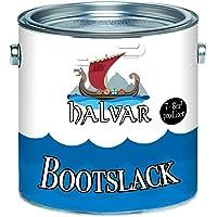 Halvar Bootlak, jachtlak, bootverf, jachtverf, PU-versterkt voor hout en metaal, extreem belastbaar en zeer elastisch…