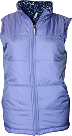 Columbia youth girls Ice Chips II Reversible Fleece Puffer Vest