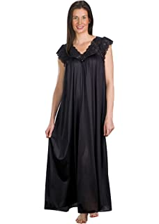 f4e4ec0de38 Shadowline Women s Plus-Size Silhouette 53 Inch Short Cap Sleeve Long Gown