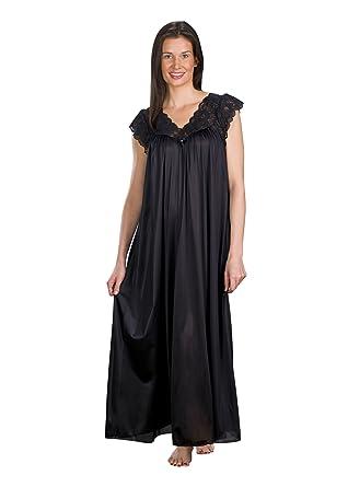 c519d5819a3 Shadowline Women s Plus-Size Silhouette 53 Inch Short Cap Sleeve Long Gown