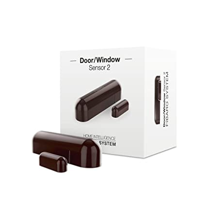 Fibaro FGDW-002-7 Inalámbrico Marrón Sensor de Puerta/Ventana - Sensores de