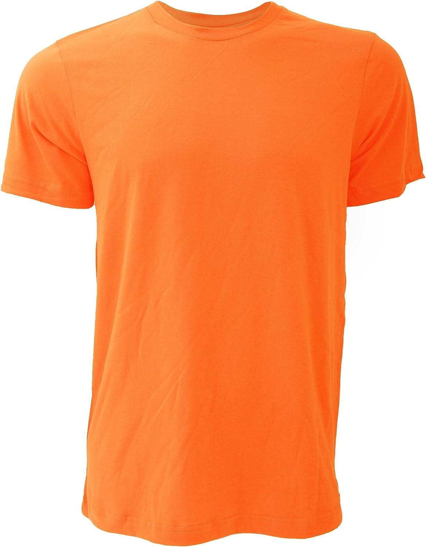 Bella Men's Canvas Jersey Crew Neck T-Shirt