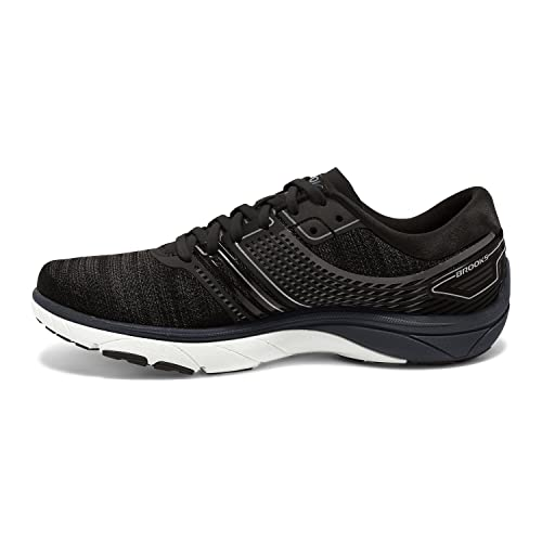 Brooks Men's PureCadence 6 Ebony/Silver/Black 9 D US