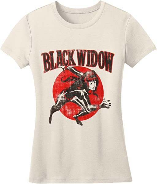 Black Widow Run 30 Single T-shirt