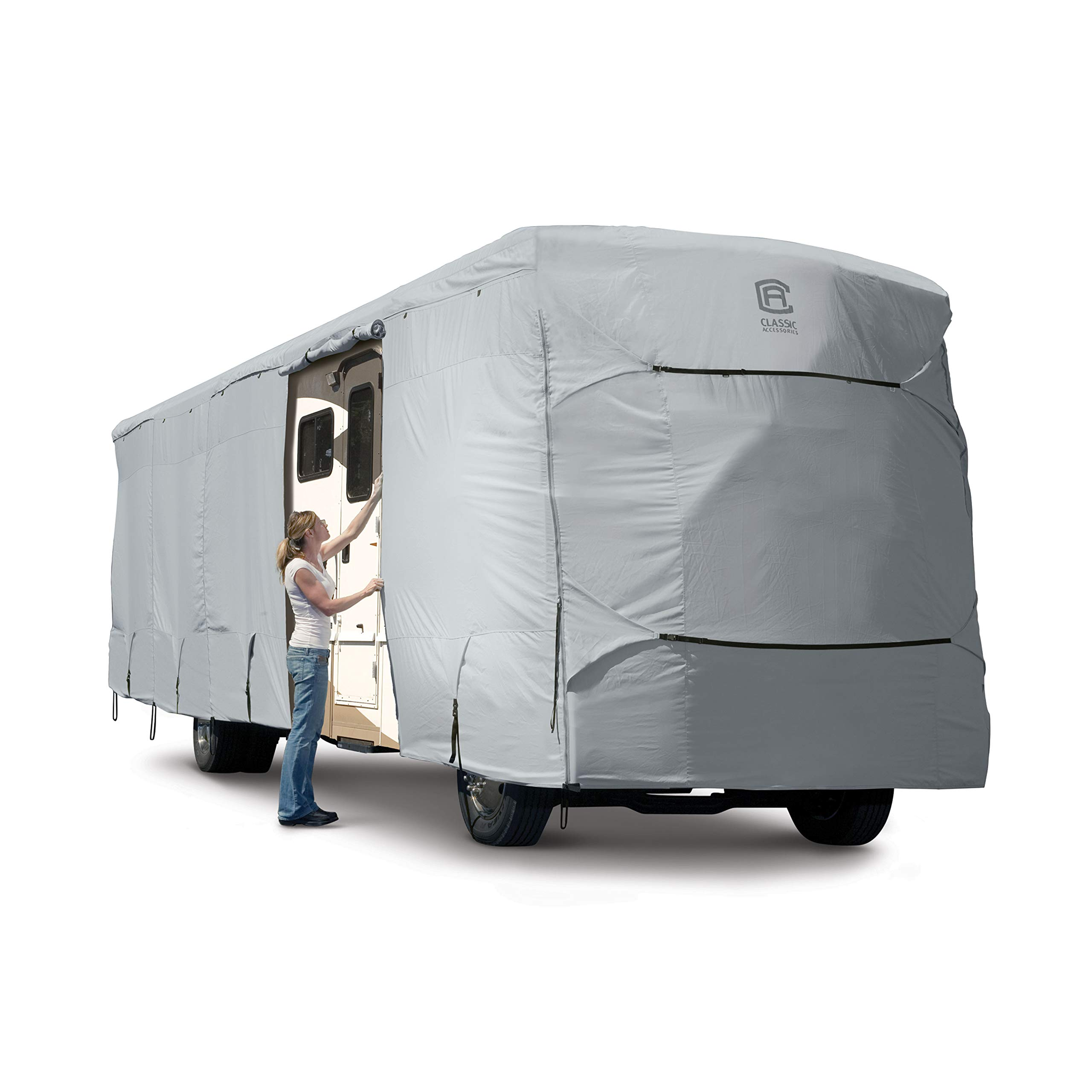Classic Accessories OverDrive PermaPro Heavy Duty Cover for 33' to 37' Class A RVs