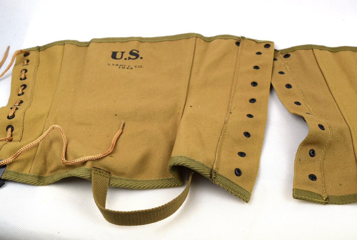 Replica WWII US Canvas Pants Gaiter Leggings Puttee by Chengxiang (Image #7)