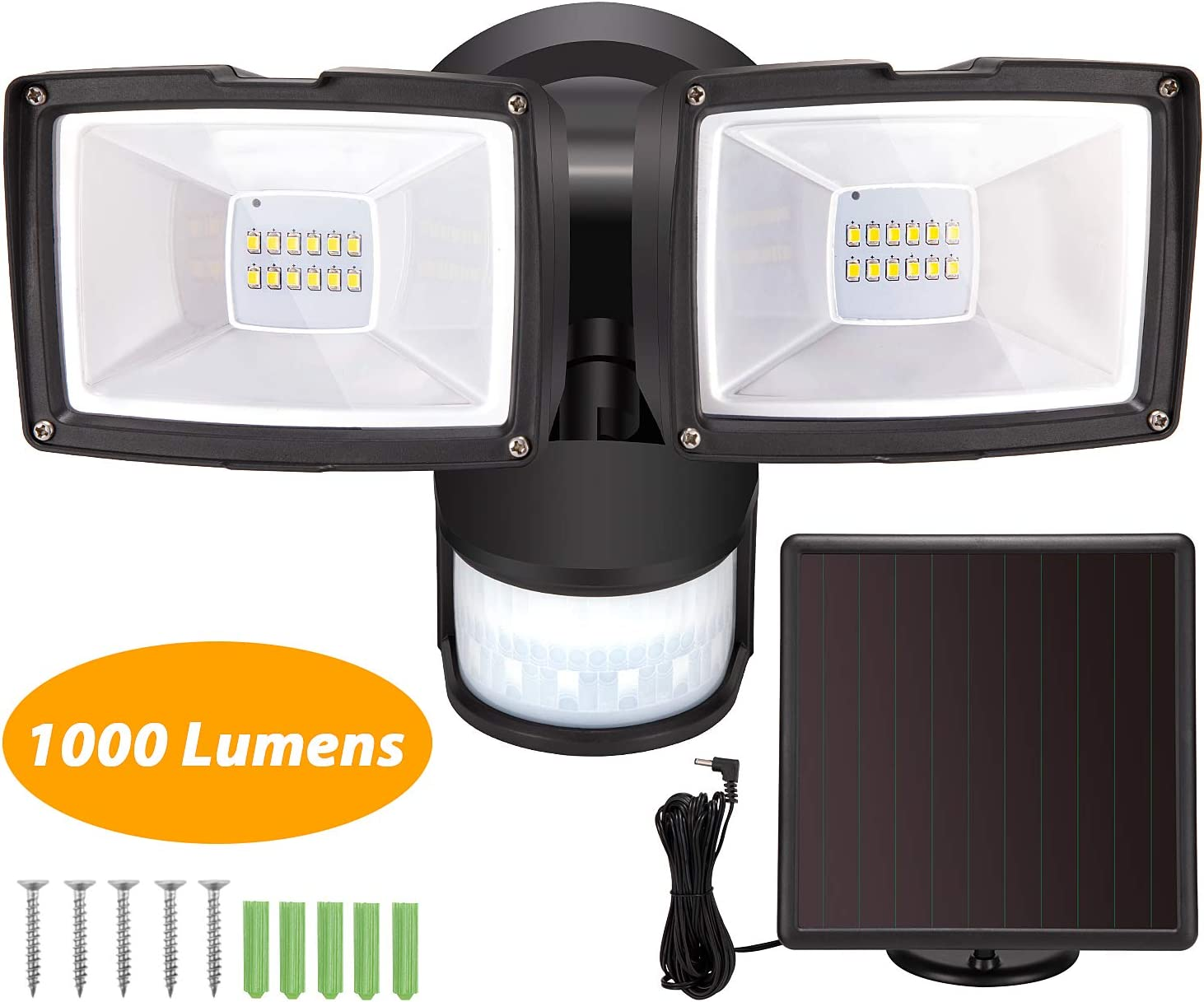 Amazon coupon code for Solar Motion Sensor Lights 1000 Lumen LED