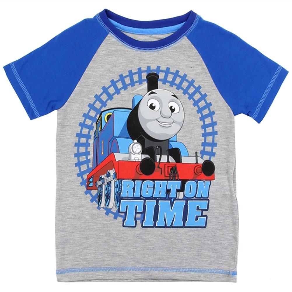Thomas & Friends Little Boys Toddler T Shirt (Grey, 3T)