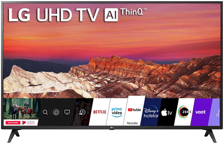 LG 50 inch Smart TV 4K Ultra HD Smart LED TV