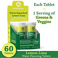 Amazing Grass Effervescent Tablets: Green Superfood Water Flavoring Tablet with...