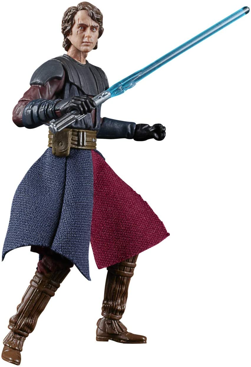 Star Wars The Vintage Collection Anakin Skywalker Juguete, Escala de 9,5 cm, Figura de acción de Star Wars: The Clone Wars, Juguetes para niños a Partir de 4 años