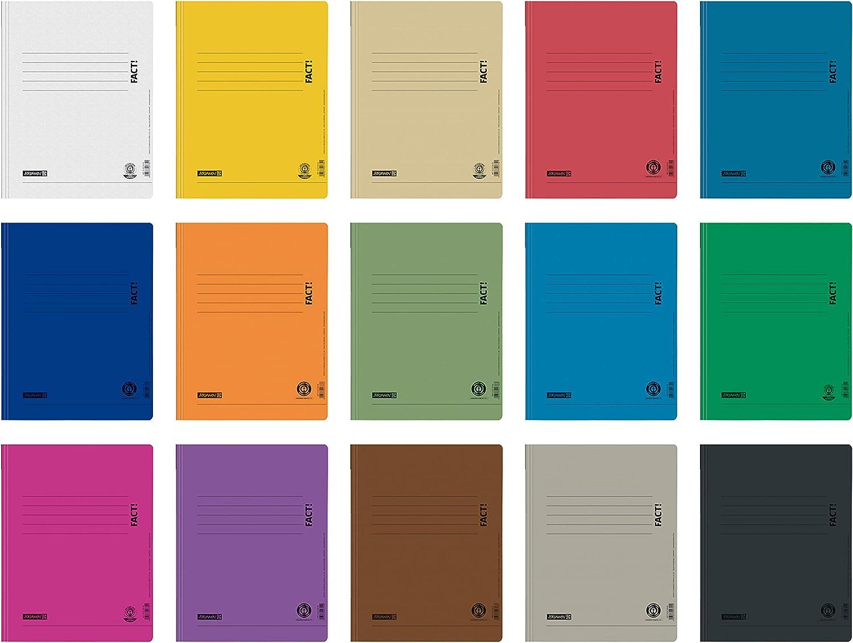 f/ür Schule Brunnen Schnellhefter Pappe extrastark Farben im Pack GRO/ßPACK bunt 13 St/ück bzw B/üro und zu Hause Job