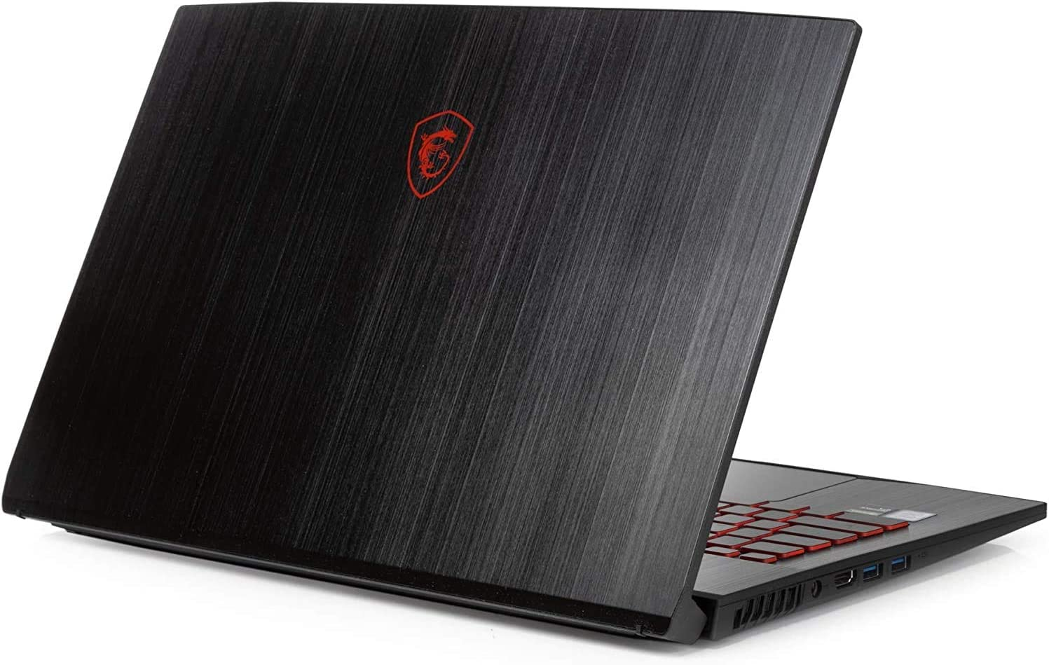 "MSI Thin GF75 Laptop, 17.3"" FHD Display, Intel Core i7-9750H Upto 4.5GHz, 32GB RAM, 1TB NVMe SSD + 1TB HDD, NVIDIA GeForce GTX 1050 Ti, HDMI, Wi-Fi, Bluetooth, Windows 10 Pro (Renewed)"