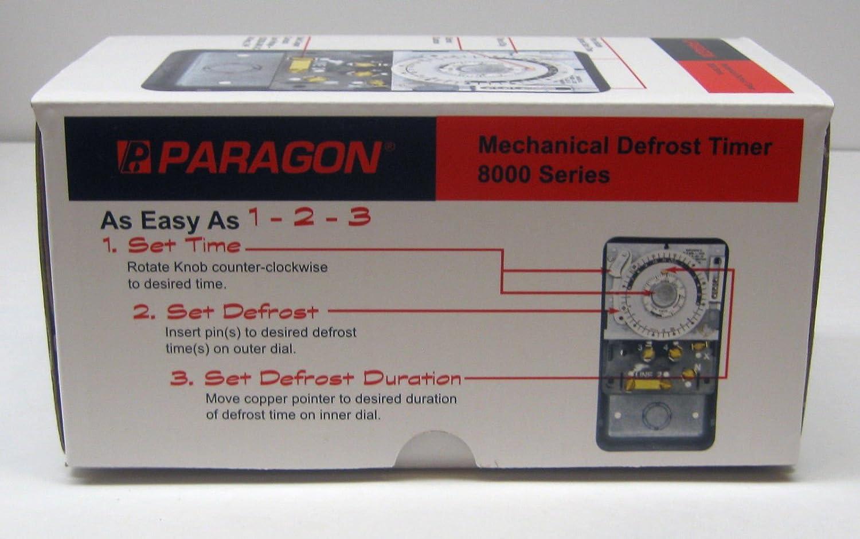 Paragon Defrost Timer Wiring