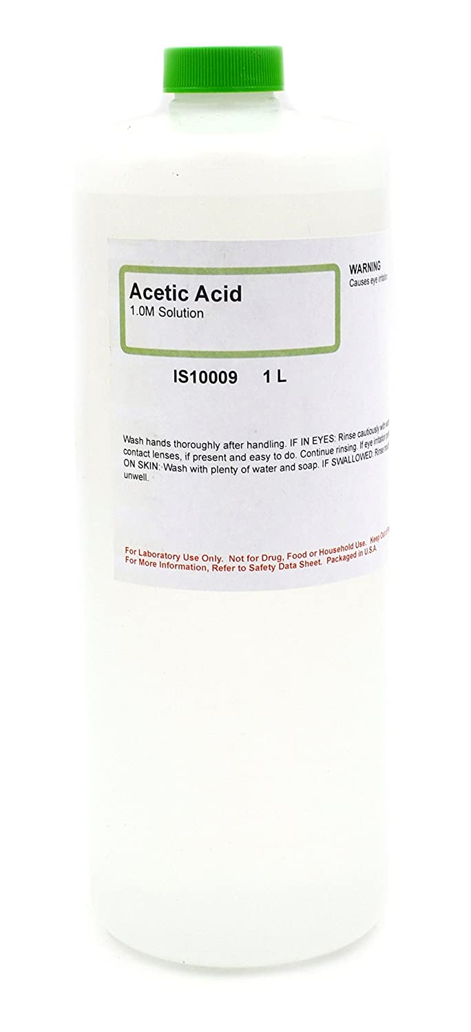 Acetic Acid Solution, 1M, 1L - The Curated Chemical Collection