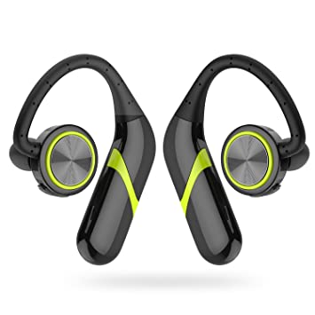 GSPON Auriculares Bluetooth Deportivos Auriculares Estéreo Cancelación de Ruido Suavizado Auricular para Running Gym: Amazon.es: Electrónica
