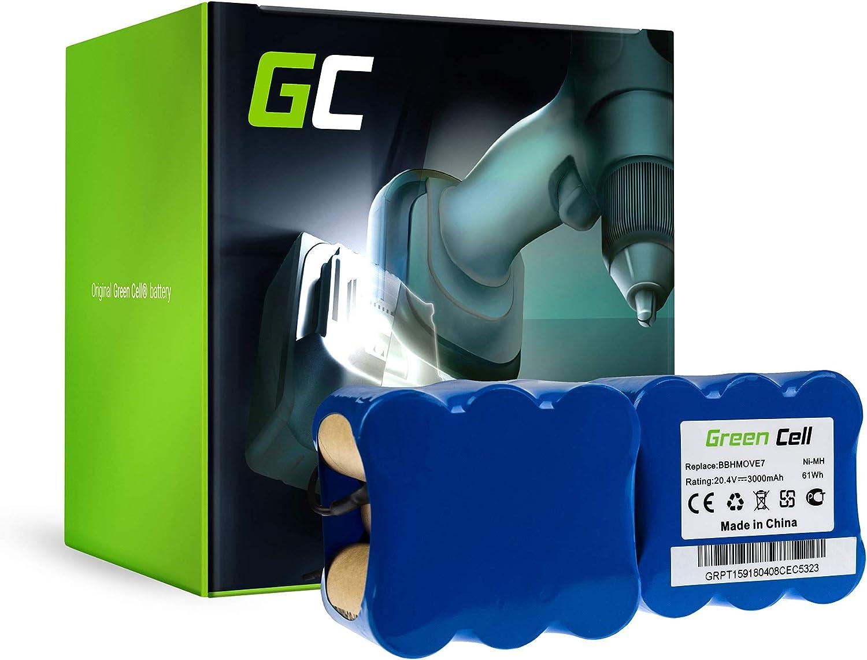 Green Cell® fd9406 Aspiradora batería para Bosch (Ni-MH pilas 3Ah ...