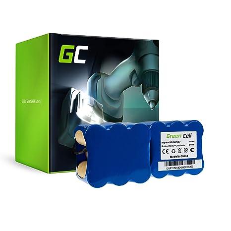 Green Cell® Batería de Aspirador para Bosch BBHMOVE7 Move 2in1 20.4V (Ni-