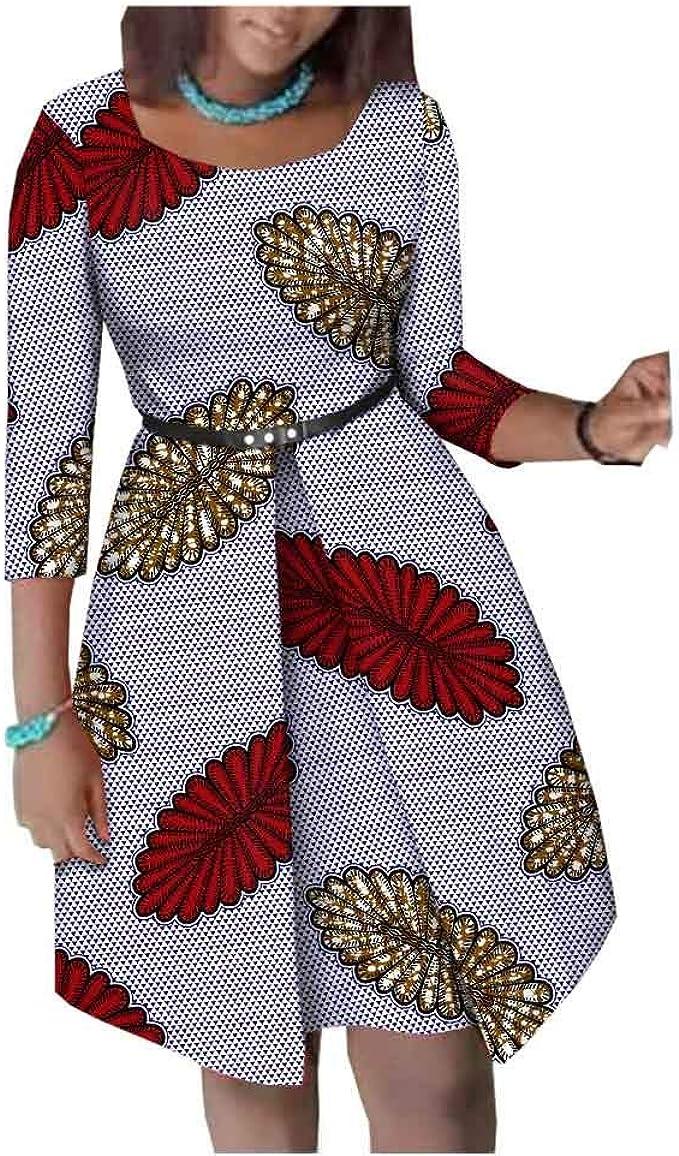 Amazon.com: Afripride African Dresses for Women Ankara Print ...