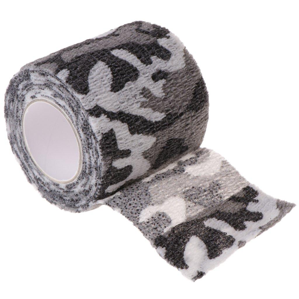 Lamdoo Tattoo autoadesiva non tessuta benda elastica grip tubo copertura Wrap sport tape D A