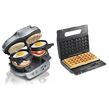 Amazon Hamilton Beach Breakfast Sandwich Maker Proctor Silex