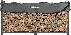 Woodhaven The 8 Foot Firewood Log Rack