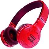 JBL E45BT Bluetooth対応 ワイヤレスヘッドホン マルチポイント対応 密閉型オンイヤー マイク付1ボタンリモコン搭載 レッド 【国内正規品】 JBLE45BTRED