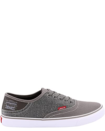 Levi's Shoes Men's Monterey Chambray Core Charcoal Oxford