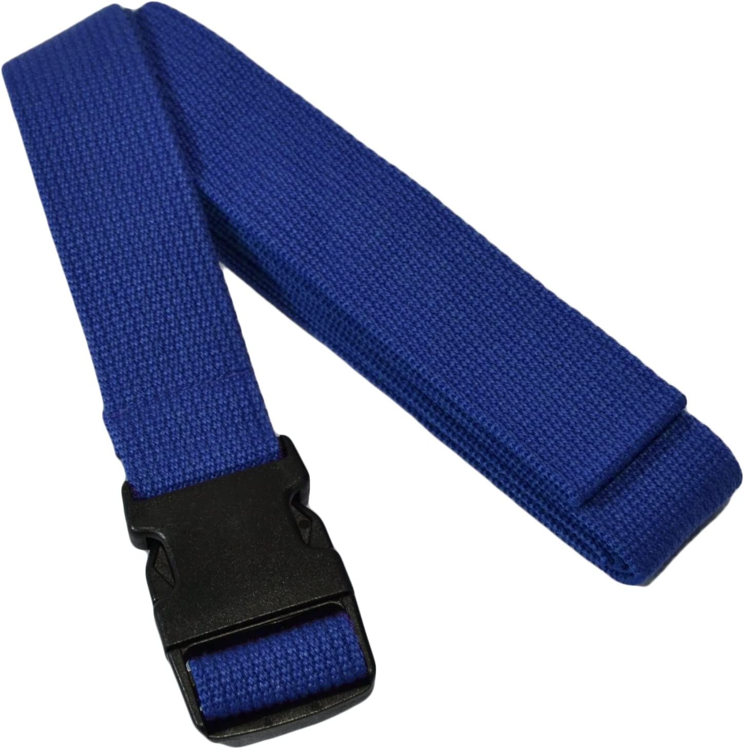 YogaAccessories 8 Pinch Buckle Cotton Yoga Strap
