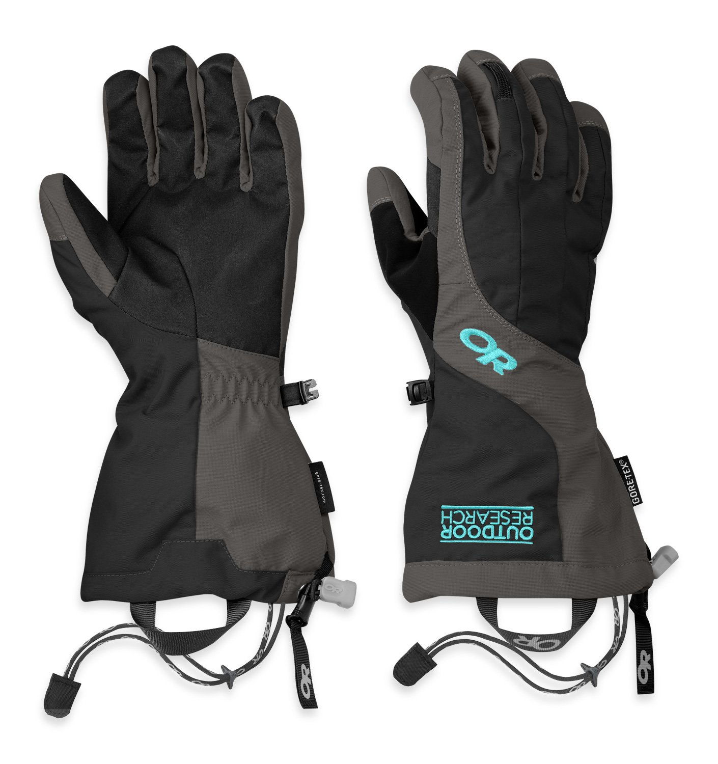 Outdoor Research Women's arete gloves, Black/Charcoal, Medium by Outdoor Research